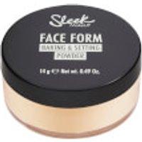 Sleek MakeUP Face Form Baking and Setting Powder - Light