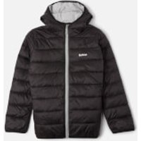 Barbour Boys Trawl Quilted Jacket - Black - M