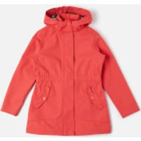 Barbour Girls' Promenade Jacket - Coral - XXL