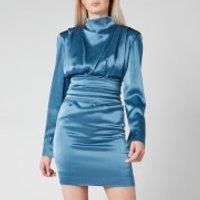 HUGO Womens Kikera Dress - Dark Blue - UK 10