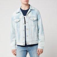 Levi's Men's Vintage Fit Trucker Jacket - Washed Blue - L