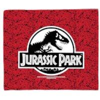 Jurassic Park Logo Fleece Blanket - Blanket Gifts