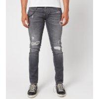 Tramarossa Men's 1980 Ripped Jeans - Denim Comfort Grey - W38