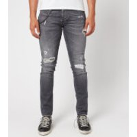 Tramarossa Men's 1980 Ripped Jeans - Denim Comfort Grey - W32