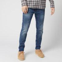 Edwin Men's ED-85 Slim Tapered Drop Crotch Jeans - Blue Takeo Wash - W32/L32