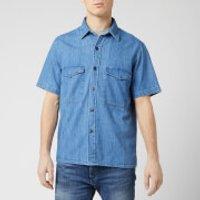 Edwin Men's Big Shirt - Blue - M