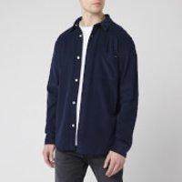 Edwin Men's Minimal Shirt - Navy - L