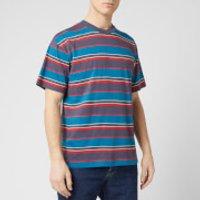 Edwin Men's Quarter T-Shirt - Ebony Stripes - L