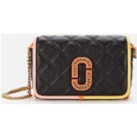 Marc Jacobs Women's The Status Flap Colour Block Bag - Black