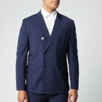HUGO Men's Unisex203 Blazer - Dark Blue - S/46