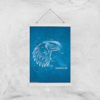 Harry Potter Ravenclaw Giclee Art Print - A3 - White Hanger