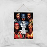 DC Justice League Giclee Art Print - A3 - White Hanger