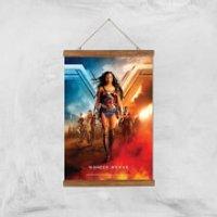 DC Wonder Woman Giclee Art Print - A3 - Wooden Hanger - Wonder Woman Gifts