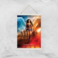 DC Wonder Woman Giclee Art Print - A3 - White Hanger - Wonder Woman Gifts