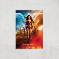 DC Wonder Woman Giclee Art Print - A2 - Print Only - Wonder Woman Gifts