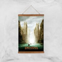 Lord Of The Rings: The Fellowship Of The Ring Giclee Art Print - A3 - Wooden Hanger