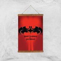 Batman & Robin Giclee Art Print - A3 - Wooden Hanger - Robin Gifts