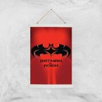 Batman & Robin Giclee Art Print - A3 - White Hanger - Robin Gifts