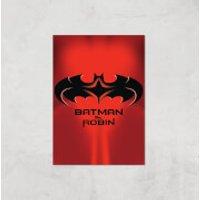 Batman & Robin Giclee Art Print - A2 - Print Only - Robin Gifts