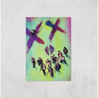 DC Suicide Squad Giclee Art Print - A2 - Print Only