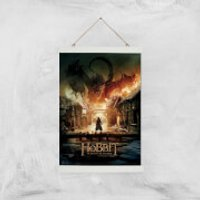 The Hobbit: Battle Of The Five Armies Giclee Art Print - A3 - White Hanger - Hobbit Gifts