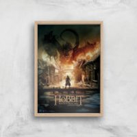 The Hobbit: Battle Of The Five Armies Giclee Art Print - A2 - Wooden Frame - Hobbit Gifts