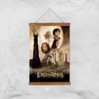 Lord Of The Rings: The Two Towers Giclee Art Print - A3 - Wooden Hanger - Rings Gifts