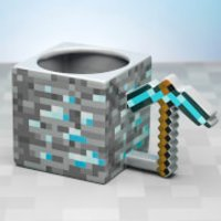 Minecraft Pickaxe Oversized Mug - Minecraft Gifts