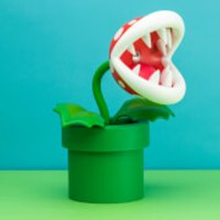 Super Mario Piranha Plant Posable Lamp - Computer Games Gifts