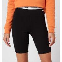 Tommy Jeans Women's Legging Shorts - Black - M