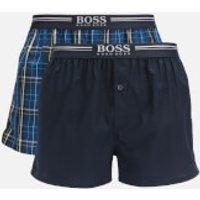 BOSS Men's 2-Pack Boxer Shorts - Dark Blue - L