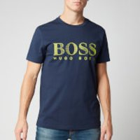 BOSS Men's T-Shirt Rn - Navy - L