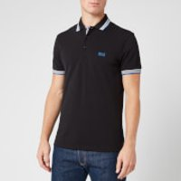 BOSS Mens Paddy Polo Shirt - Black - L