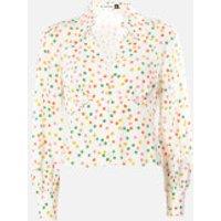 RIXO Women's Daria Shirt - Pollen Spot - S