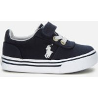 Polo Ralph Lauren Toddlers' Hanford III PS Velcro Canvas Trainers - Navy - UK 4 Toddler/EU 20