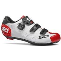 Sidi Alba 2 Road Shoes - EU 42 - White/Black/Red