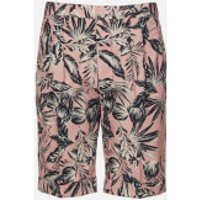 Superdry Men's Edit Pleat Chino Short - Pink Palm - W36