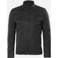 Superdry Men's Carbon Biker Jacket - Black - M
