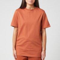 Reebok X Victoria Beckham Women's Logo T-Shirt - Desert Brown - M