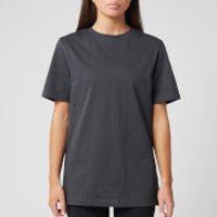Reebok X Victoria Beckham Women's Logo T-Shirt - Grey - L