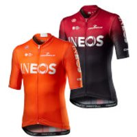 Castelli Team Ineos Competizione Jersey - L - Orange