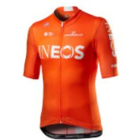 Castelli Team Ineos Competizione Jersey - XXL - Orange