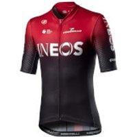 Castelli Team Ineos Competizione Jersey - XL - Dark Red