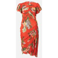 Preen By Thornton Bregazzi Women's Meggy Dress - Red Lotus Flower - S