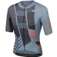 Sportful BodyFit Pro Bomber Jersey - S - Cement/Anthracite