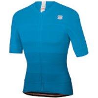 Sportful BodyFit Pro Evo Jersey - XL - Methyl Blue/Blue Atomic/White
