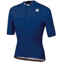 Sportful BodyFit Pro Classics Jersey - L - Blue Twilight/Black