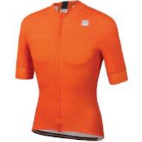 Sportful BodyFit Pro Classics Jersey - S - Orange SDR/Anthracite