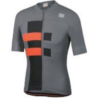 Sportful Bold Jersey - M - Cement/Orange SDR