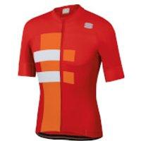 Sportful Bold Jersey - M - Red/White